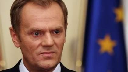 """Туск і Обама вимагають від Путіна """"піти зі східної України"""""""