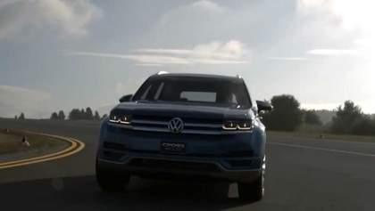 Volkswagen представить новий кросовер на базі концепту CrossBlue у січні