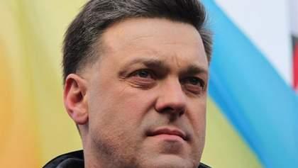 Тягнибок закликав повернути звання Героя України Бандері