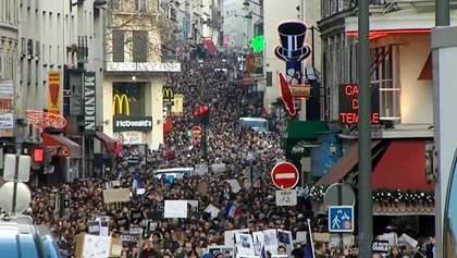 Марш Єдності: пам'ять загиблих від рук ісламістів вшанували в Парижі та світі