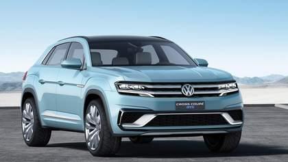 Volkswagen представил в Детройте кроссовер Cross Coupe GTE