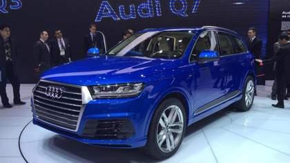 Новый Audi Q7 дебютировал в Детройте
