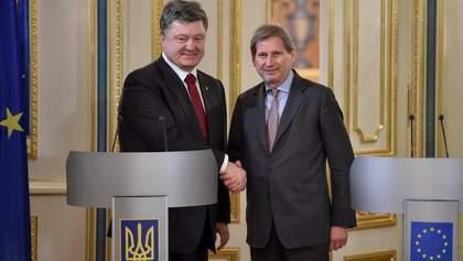Європейська сім'я має певні зобов'язання перед Україною, — єврокомісар