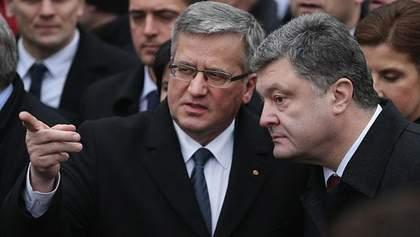Коморовський виступив за введення миротворців на Донбас