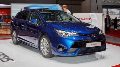 Toyota привезла до Женеви рестайлінговий Avensis