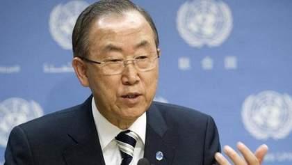Генсек ООН закликав боротись з насильством над жінками