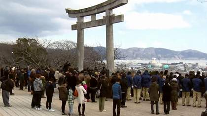 Японія вшанувала 16 тисяч загиблих унаслідок землетрусу та цунамі  4 роки тому