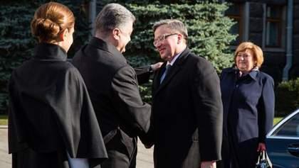 ЄС та НАТО визнають Україну в кордонах 1991 року, — президент Польщі
