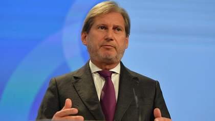 Брюсcель виключає можливість перегляду угоди з Україною на догоду Кремлю