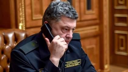 Порошенко поговорив про звільнення Савченко з Генсеком ООН