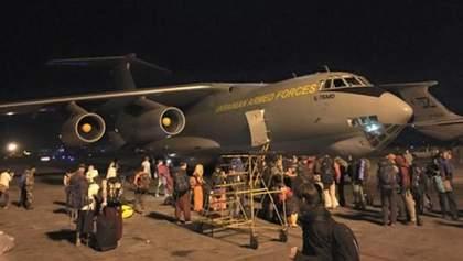 Министерство обороны ожидает самолет с эвакуированными украинцами уже сегодня