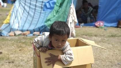 Слезы и страх: Непал после ужасного землетрясения в фотографиях