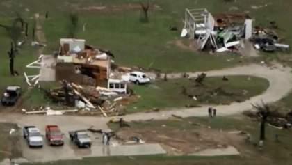 В США - серия разрушительных торнадо, есть жертвы