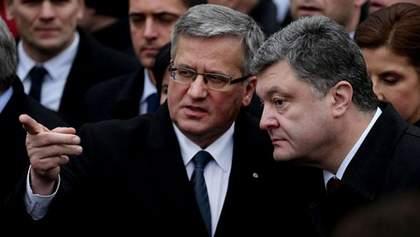 Порошенко може на догоду полякам понизити статус УПА