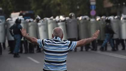 """На вірменському """"Майдані"""" після сутички затримали активіста"""