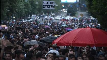 Вірменський активіст зашив собі рот