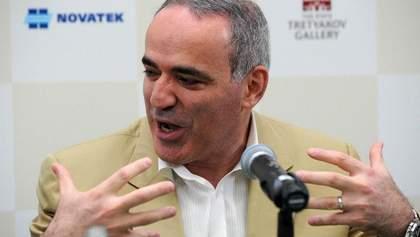 Путин переписывает историю:  из памяти вычеркнули достижения Каспарова