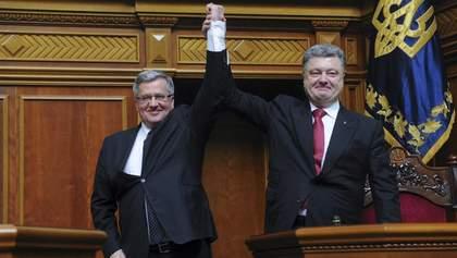 У Порошенка можуть забрати престижний польський орден