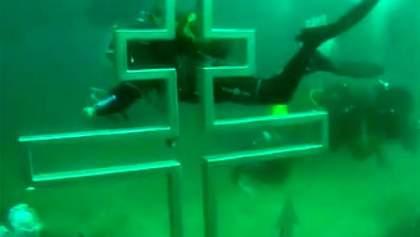 Перший у світі підводний православний храм з'явиться в Криму