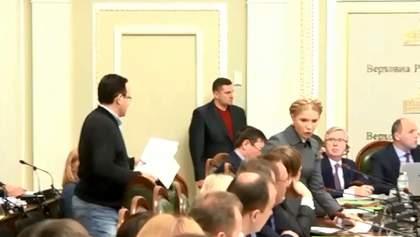 Депутаты возмущены приходом следователей на согласительный совет