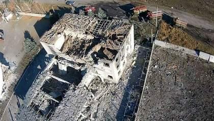 Епіцентр вибухів у Сватовому: з'явились нові вражаючі фото