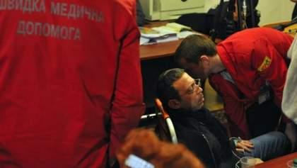 Корбану поплохело в зале суда: судья объявил перерыв