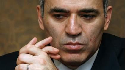 Каспаров посоветовал, как Украине вести себя с Россией