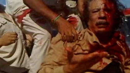У мережі з'явилось раніше невідоме відео останніх годин життя Каддафі (18+)