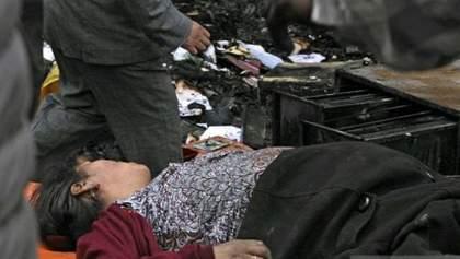 Протестующие сожгли мэрию вместе с чиновниками