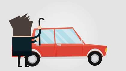 Які марки машин найчастіше викрадають в Україні