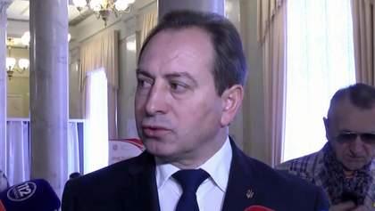 """Батько"" не повинен говорити, хто буде прем'єром, — Томенко"
