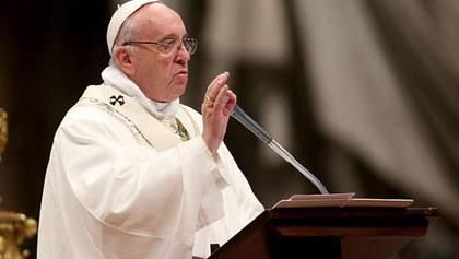 Папа Римський привітав католиків з Великоднем і закликав подолати страх