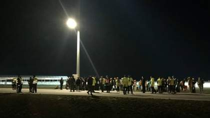 Из-за угрозы взрыва в Варшаве эвакуировали аэропорт: появились фото