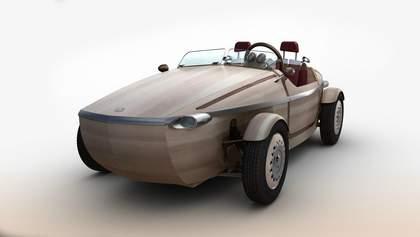Toyota удивляет: компания представила деревянный автомобиль