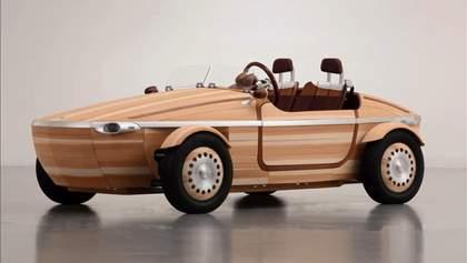 Toyota удивила экологическим авто из дерева