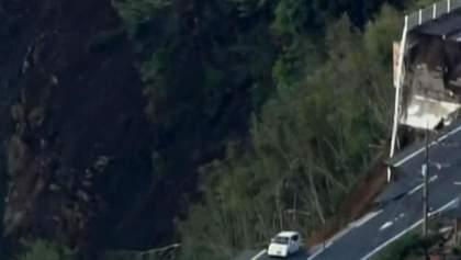 Появилось видео страшных последствий землетрясения в Японии: есть угроза вулкана и цунами