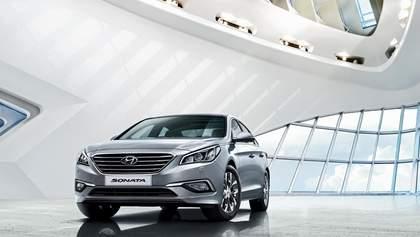 Новая Hyundai Sonata прибыла в Украину