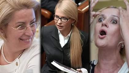 Топ-7 украинских белокурых политиков