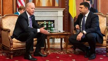 Наслідки зустрічі Байдена та Гройсмана для України: коротко про головне