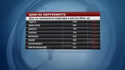 В Украине дешевеет недвижимость