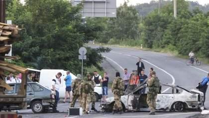 Стрельба в Мукачеве: подозреваемых оставили под стражей до осени
