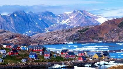 С Гренландии бешеными темпами сходит лед: впечатляющее видео