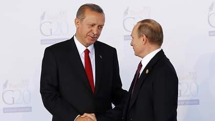 Путин позвонил Эрдогану после попытки переворота