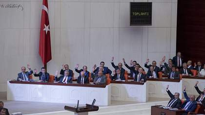 Турецкий парламент поддержал введение чрезвычайного положения в стране