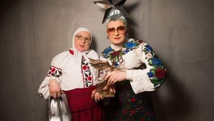Маму Сердючки избили цыгане на Сорочинской ярмарке