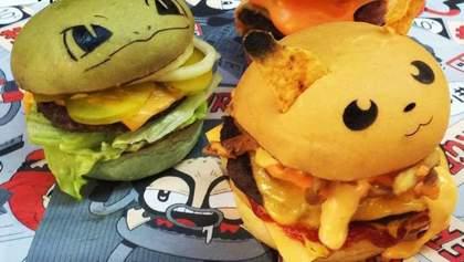 Австралийцы превратили покемонов на бургеры