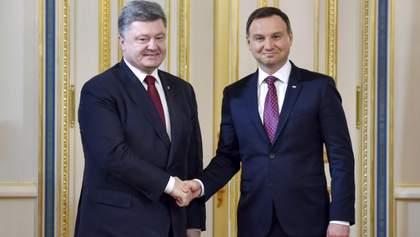 Украина обсудит с Польшей позицию относительно Волынской трагедии