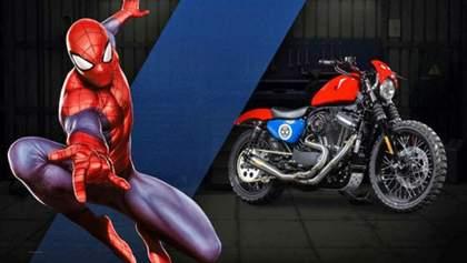 Легендарний Harley представив серію мотоциклів за мотивами коміксів