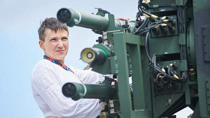 Савченко смішить людей у Європі, – Лук'яненко