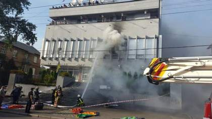 """Аваков назвав цікаву деталь про записи з пожежі на """"Інтері"""""""